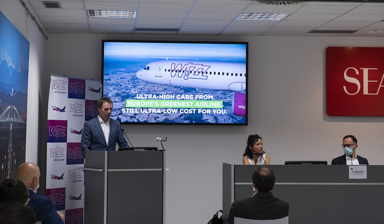 Conferenza stampa wizzair